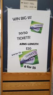100 Raffle Ticket Poster