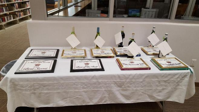 80 Awards Table